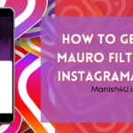 How To Get Go Mauro Filter On Instagram/Reels